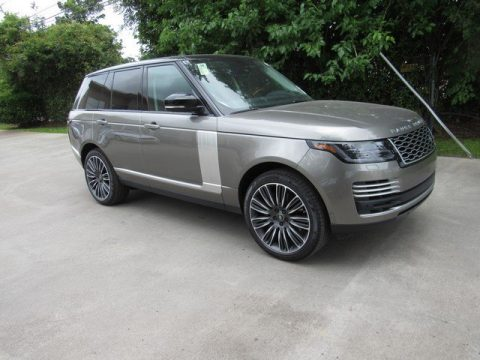 Silicon Silver Metallic Land Rover Range Rover Autobiography.  Click to enlarge.