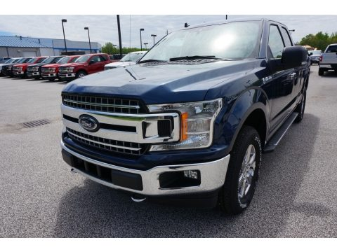 Blue Jeans Ford F150 XLT SuperCab 4x4.  Click to enlarge.
