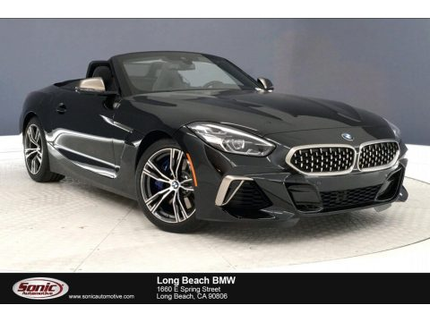 Black Sapphire Metallic BMW Z4 sDrive M40i.  Click to enlarge.