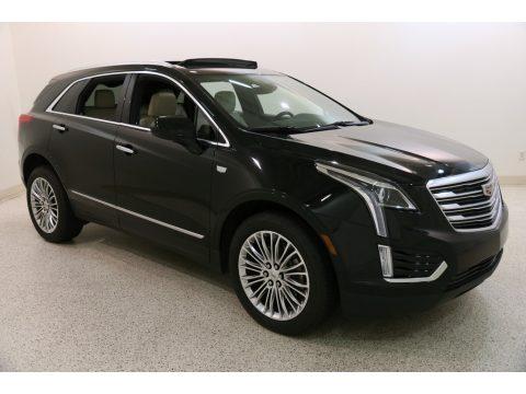 Stellar Black Metallic Cadillac XT5 Luxury AWD.  Click to enlarge.