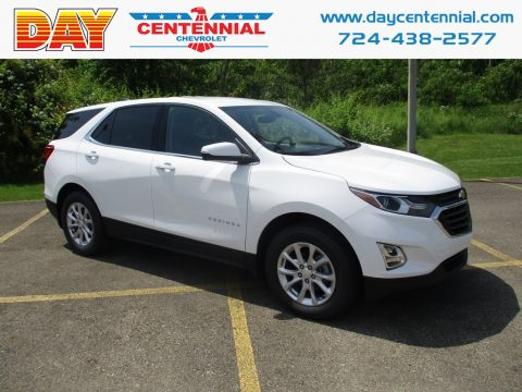Summit White Chevrolet Equinox LT AWD.  Click to enlarge.
