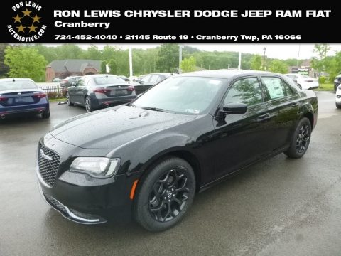 Gloss Black Chrysler 300 Touring AWD.  Click to enlarge.