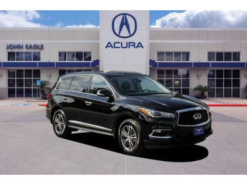 Imperial Black Infiniti QX60 Luxe AWD.  Click to enlarge.