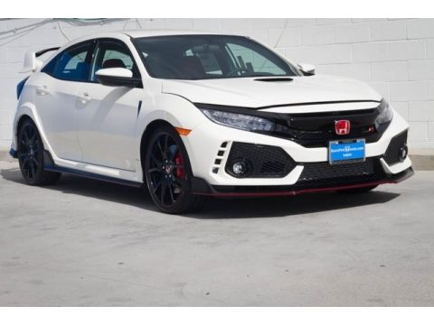 Championship White Honda Civic Type R.  Click to enlarge.