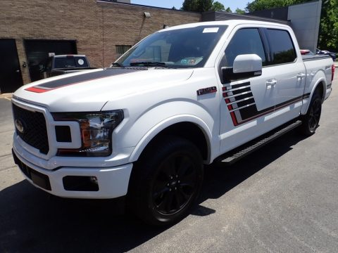 Oxford White Ford F150 Lariat Sport SuperCrew 4x4.  Click to enlarge.