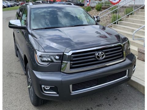 Magnetic Gray Metallic Toyota Sequoia Limited 4x4.  Click to enlarge.