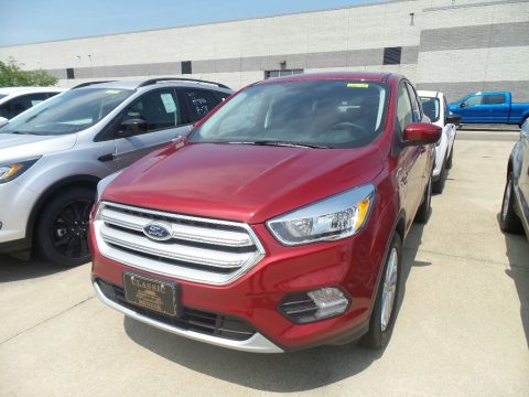 Ruby Red Ford Escape SE.  Click to enlarge.