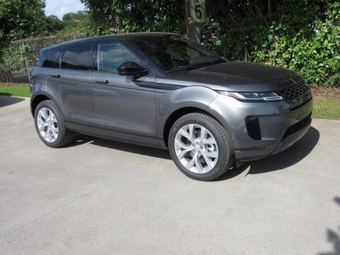 Corris Gray Metallic Land Rover Range Rover Evoque SE.  Click to enlarge.