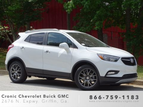 Summit White Buick Encore Sport Touring.  Click to enlarge.