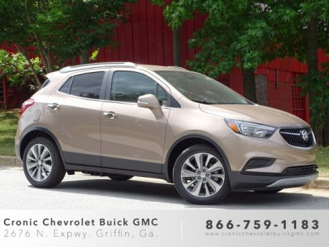 Coppertino Metallic Buick Encore Preferred.  Click to enlarge.