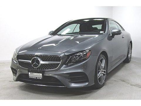 Selenite Grey Metallic Mercedes-Benz E 450 4Matic Coupe.  Click to enlarge.