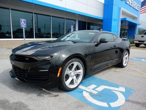 Black Chevrolet Camaro SS Coupe.  Click to enlarge.
