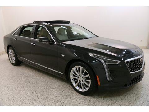 Manhattan Noir Metallic Cadillac CT6 Luxury AWD.  Click to enlarge.
