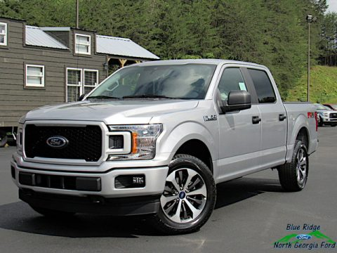 Ingot Silver Ford F150 STX SuperCrew 4x4.  Click to enlarge.