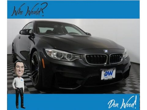Black Sapphire Metallic BMW M4 Coupe.  Click to enlarge.