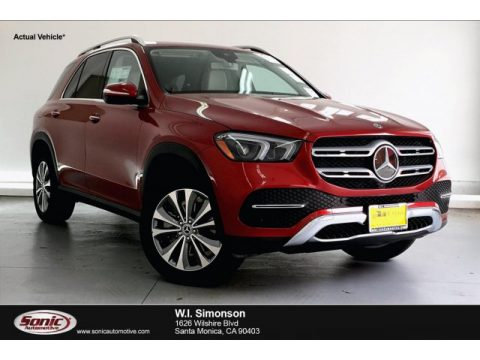 designo Cardinal Red Metallic Mercedes-Benz GLE 350 4Matic.  Click to enlarge.