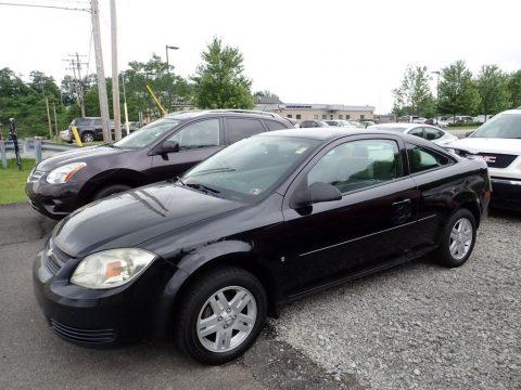 Black Chevrolet Cobalt LS Coupe.  Click to enlarge.
