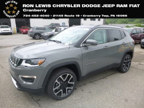 Sting-Gray Jeep Compass Limited 4x4.  Click to enlarge.