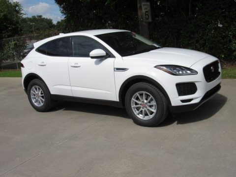 Fuji White Jaguar E-PACE .  Click to enlarge.