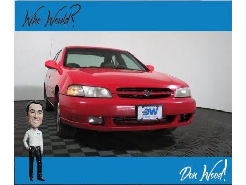 Black Cherry Metallic Nissan Altima SE.  Click to enlarge.