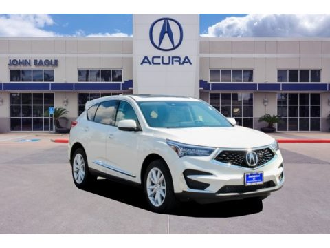 Platinum White Pearl Acura RDX FWD.  Click to enlarge.