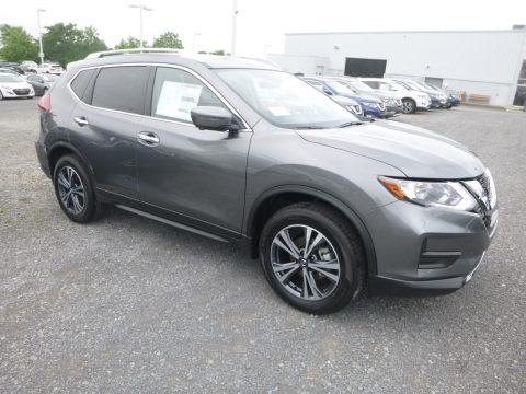 Gun Metallic Nissan Rogue SV AWD.  Click to enlarge.