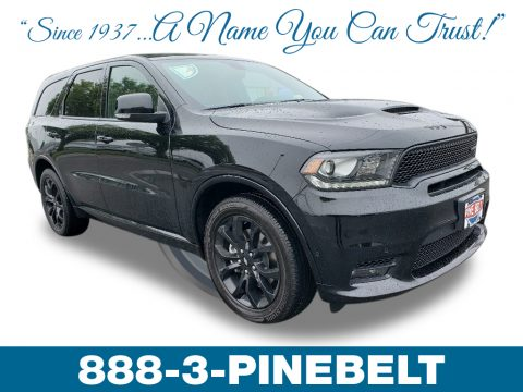DB Black Dodge Durango R/T AWD.  Click to enlarge.