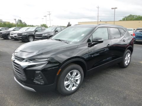 Black Chevrolet Blazer 3.6L Cloth AWD.  Click to enlarge.