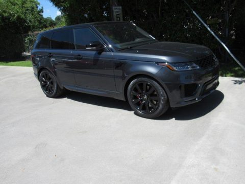 Carpathian Grey Metallic Land Rover Range Rover Sport HST.  Click to enlarge.