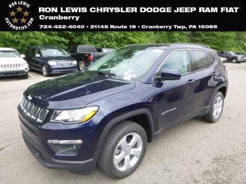 Jazz Blue Pearl Jeep Compass Latitude 4x4.  Click to enlarge.