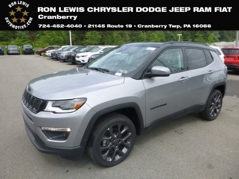 Billet Silver Metallic Jeep Compass Limited 4x4.  Click to enlarge.