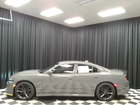 Destroyer Gray Dodge Charger R/T Scat Pack.  Click to enlarge.