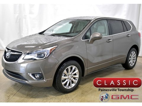Bronze Alloy Metallic Buick Envision Essence AWD.  Click to enlarge.