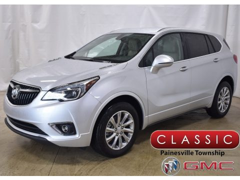 Galaxy Silver Metallic Buick Envision Essence AWD.  Click to enlarge.