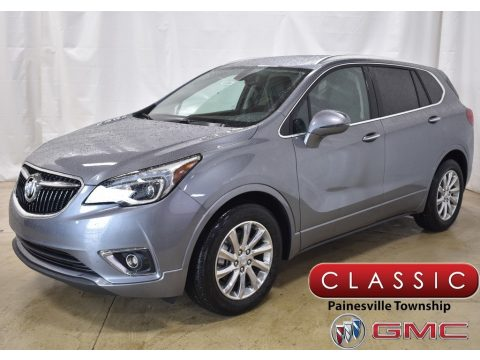 Satin Steel Gray Metallic Buick Envision Essence.  Click to enlarge.
