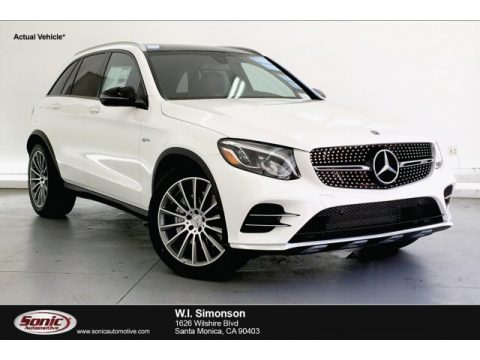 Polar White Mercedes-Benz GLC 300 4Matic.  Click to enlarge.