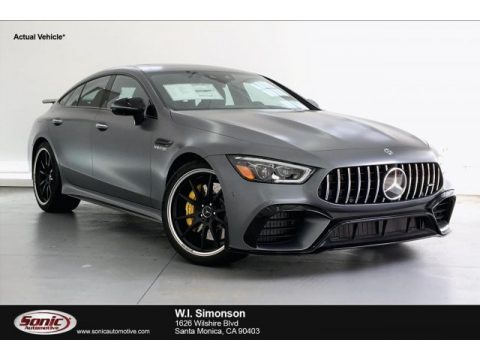 designo Selenite Grey Magno (Matte) Mercedes-Benz AMG GT 63 S.  Click to enlarge.