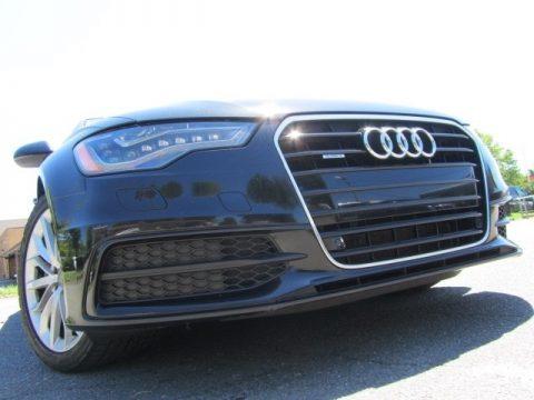 Phantom Black Pearl Effect Audi A6 3.0T quattro Sedan.  Click to enlarge.