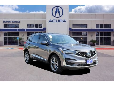Modern Steel Metallic Acura RDX Technology AWD.  Click to enlarge.