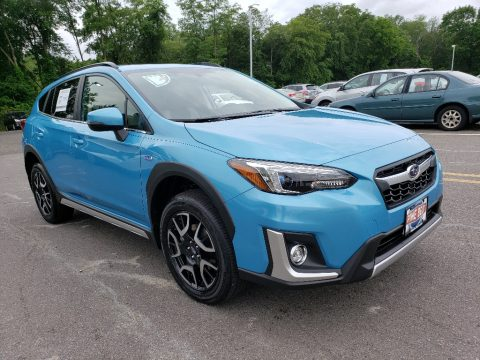 Lagoon Blue Pearl Subaru Crosstrek Hybrid.  Click to enlarge.