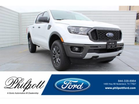 Oxford White Ford Ranger XLT SuperCrew.  Click to enlarge.