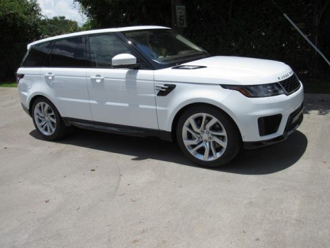 Fuji White Land Rover Range Rover Sport HSE.  Click to enlarge.