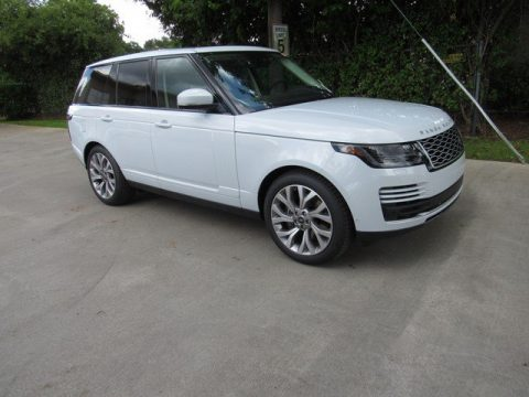 Yulong White Metallic Land Rover Range Rover HSE.  Click to enlarge.