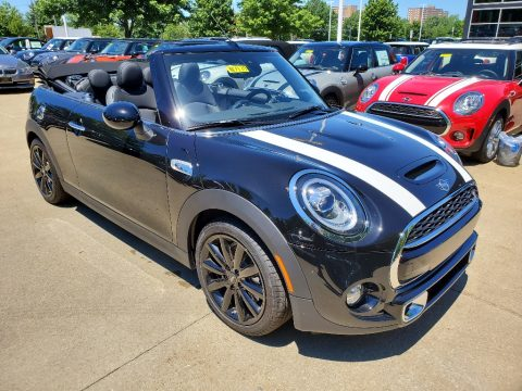 Midnight Black Mini Convertible Cooper S.  Click to enlarge.