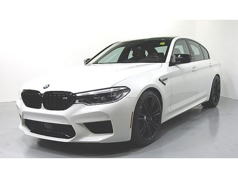 Alpine White BMW M5 Competition.  Click to enlarge.