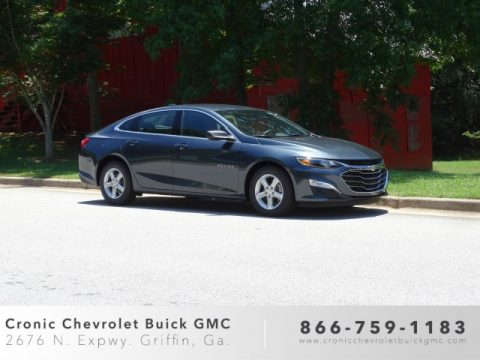 Shadow Gray Metallic Chevrolet Malibu LS.  Click to enlarge.