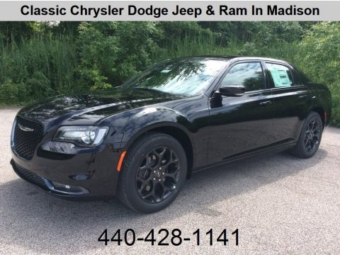 Gloss Black Chrysler 300 S AWD.  Click to enlarge.