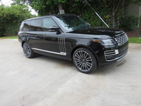 Santorini Black Metallic Land Rover Range Rover SVAutobiography Dynamic.  Click to enlarge.