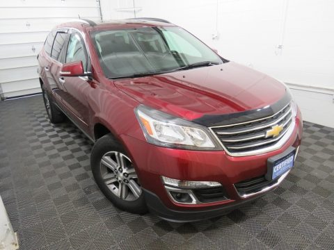 Siren Red Tintcoat Chevrolet Traverse LT AWD.  Click to enlarge.
