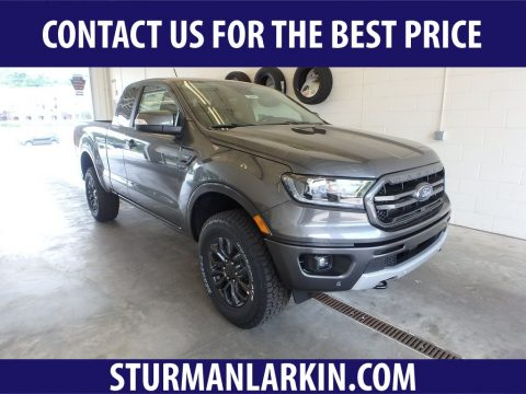 Magnetic Metallic Ford Ranger Lariat SuperCab 4x4.  Click to enlarge.